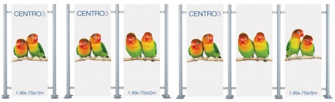 Centro 3 Linked - Modular Magentic Display System