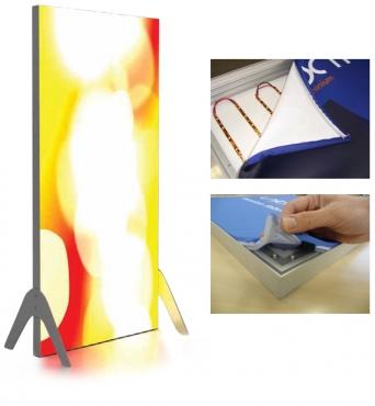 ETC Tension Fabric lightbox