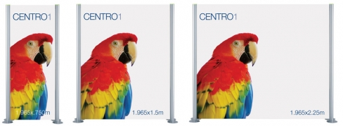 Centro 1 Banner - Modular Banner Display System