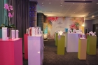 Swarovski SS13 - Branded plinths and large wall vinyl