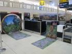 Air NewZealand - The Hobbit check in desk garphics