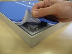 ETC Tension Fabric System Corner