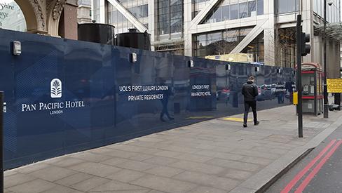 Hoarding Graphics London