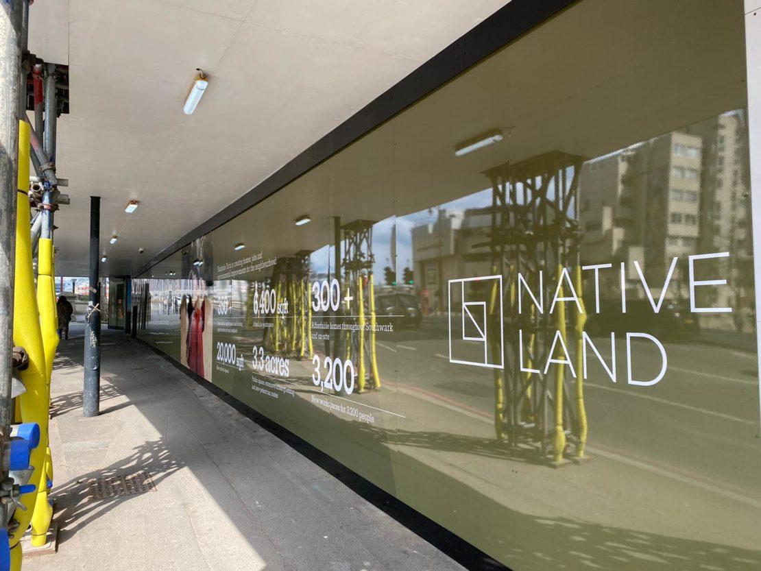 Bankside Yards – North Gantry Hoarding