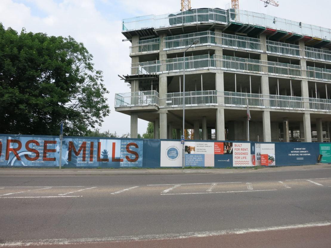 Blackhorse Mills Hoarding