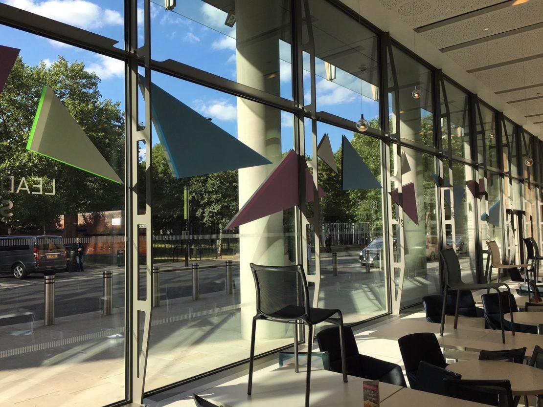 Frances Crick – Window graphics