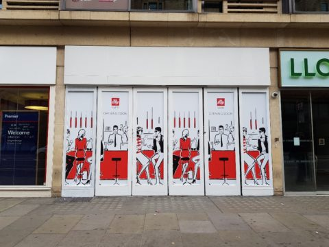 Illy Cafe, Knightsbridge – Window vinyls