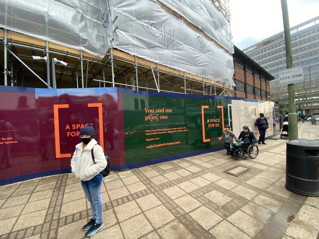 North London, Hoarding Graphics