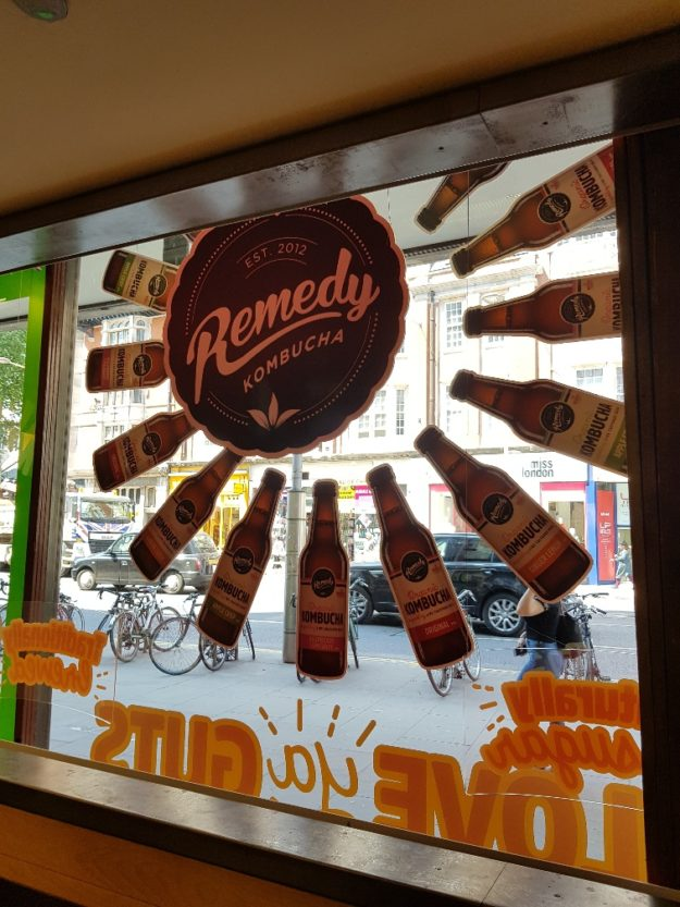Remedy Drinks – Window display