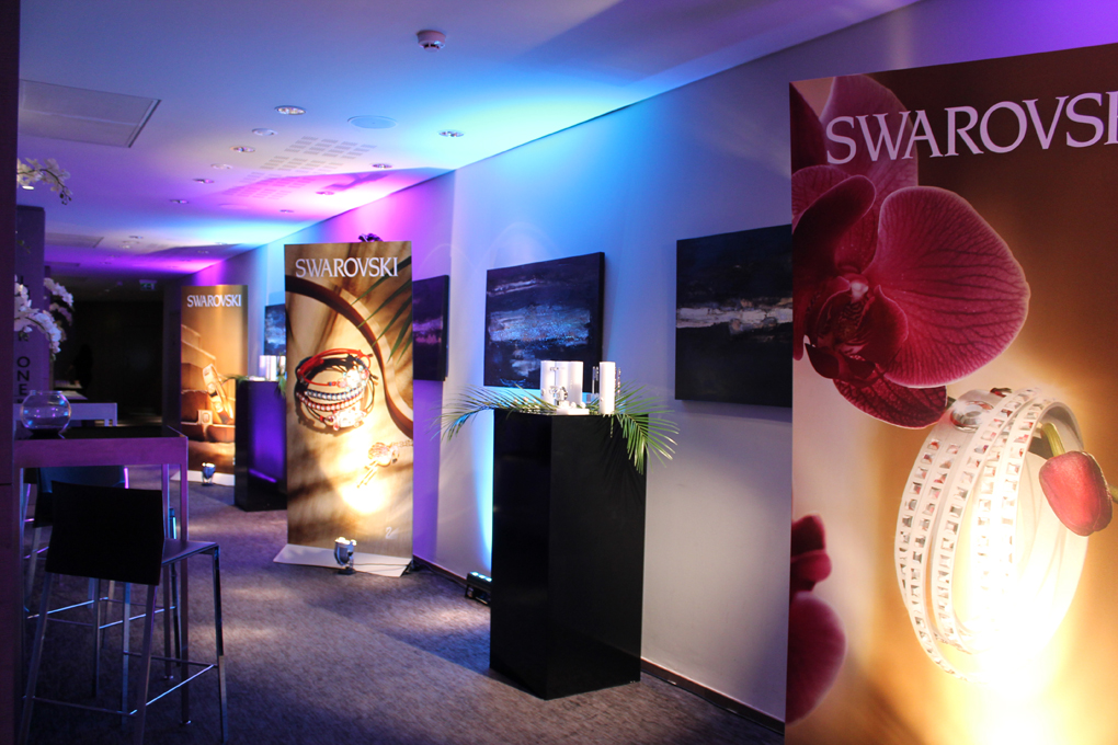 Swarovski – Press event graphics