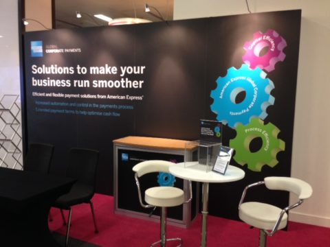 Amex  Exhibition stand