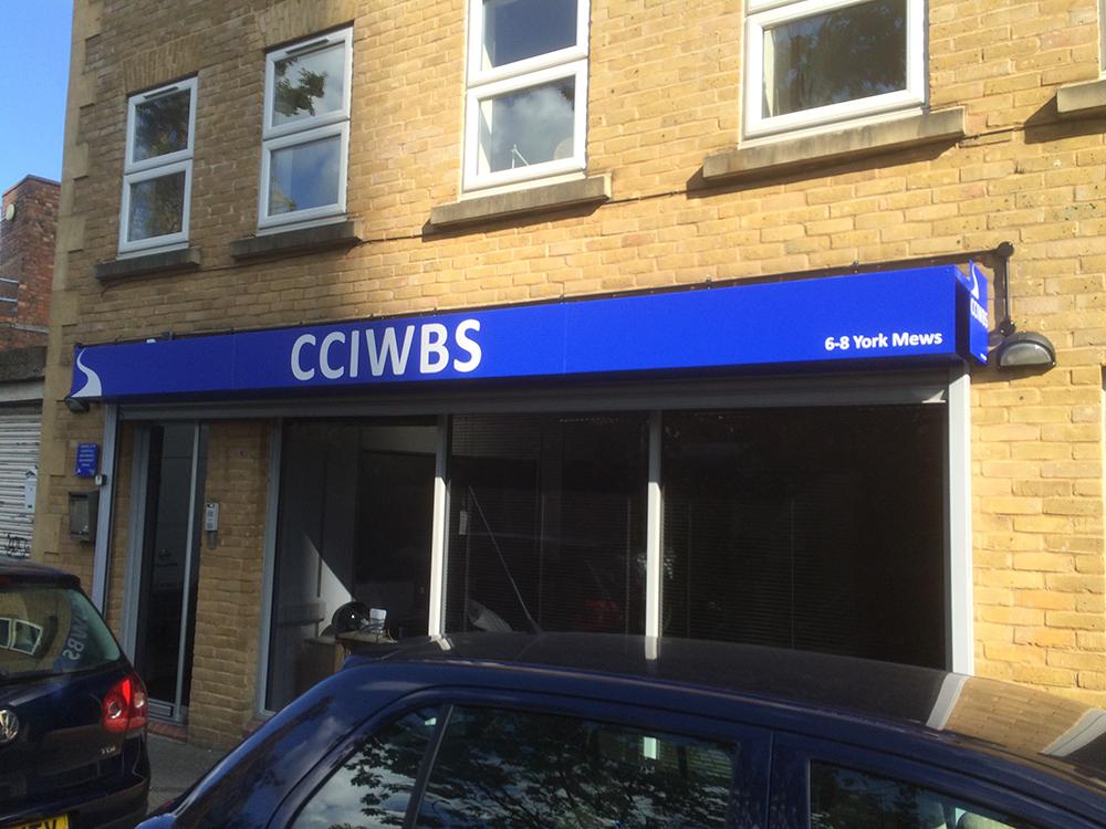CCIWBS – Signage