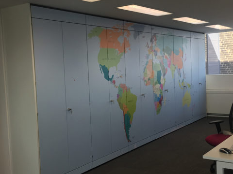 Cupboard Vinyl Graphics