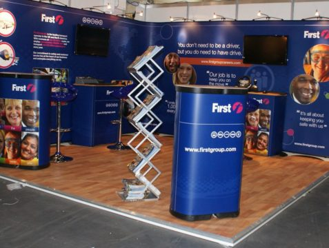 First Group – Exhibition stand
