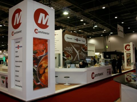 Hotelympia – Exhibition graphics