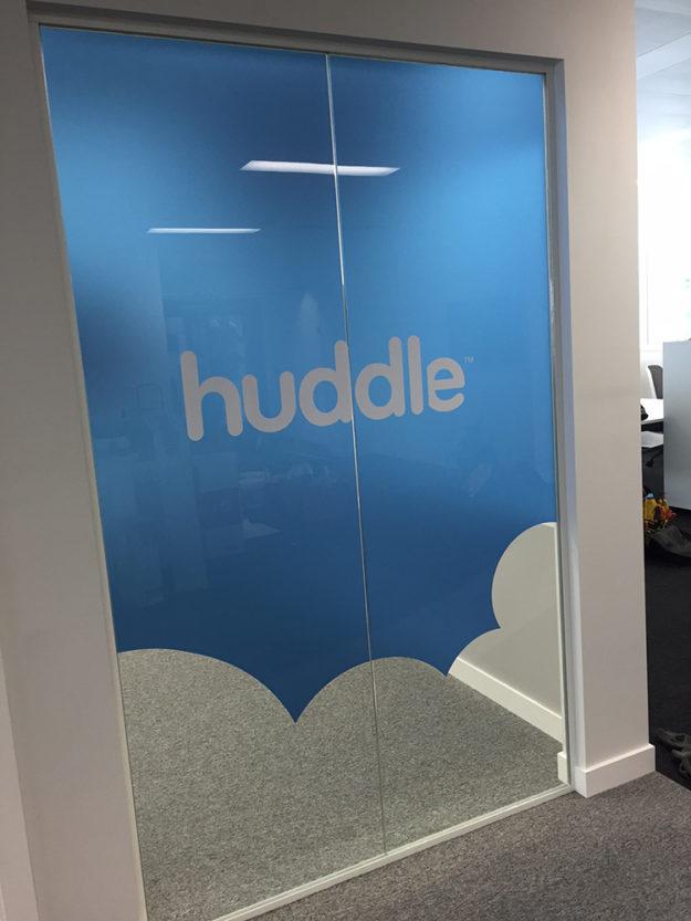 Huddle – Interior graphics