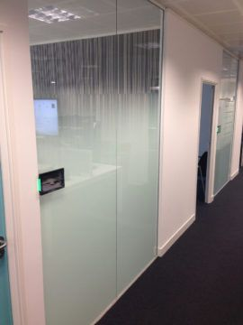 Office refurbishment – Interior graphics
