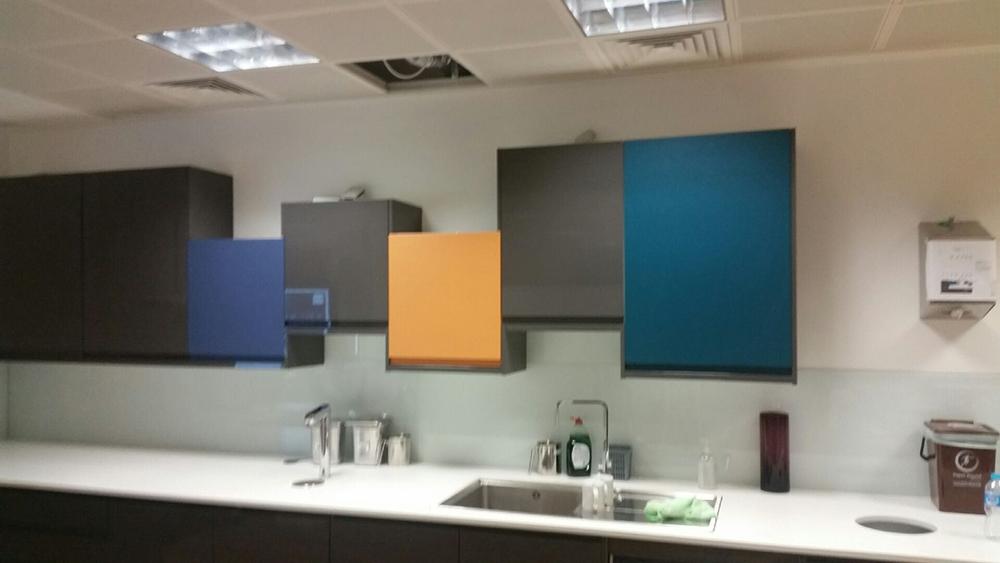 Office refurbishment – Interior graphics
