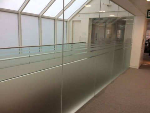 Internal Frosted Glazing