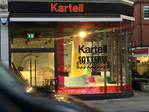 Kartell Flagship Store Kensington Graphics