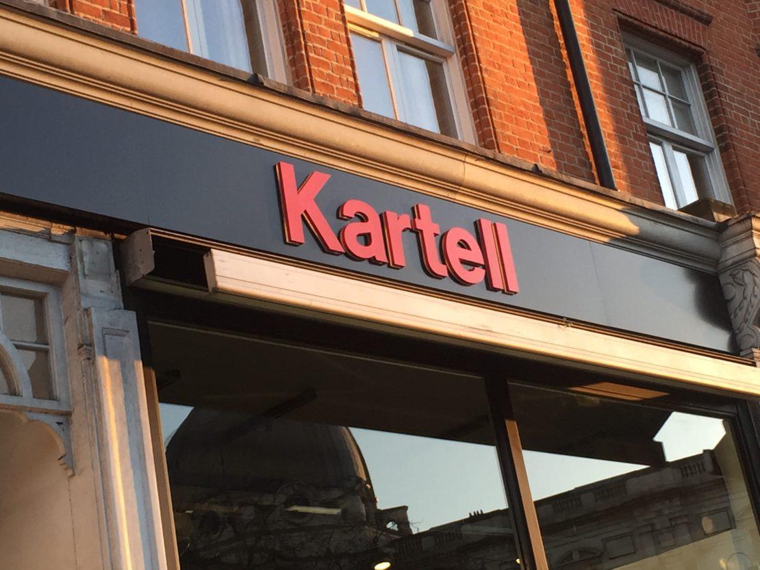 Kartell Flagship Store Kensington – Graphics
