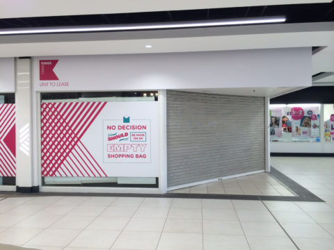 Kings Mall – Retail graphics