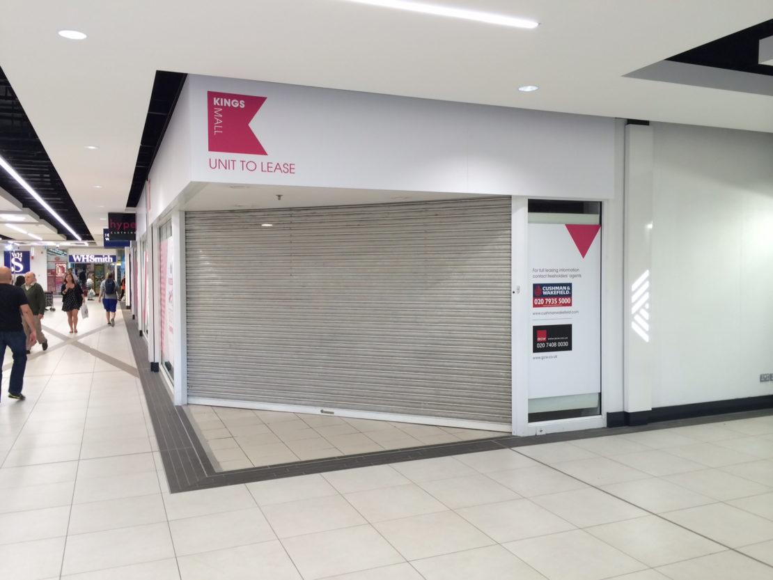 Kings Mall – Retail graphics