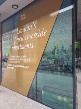 Neo Bankside – Window Graphics