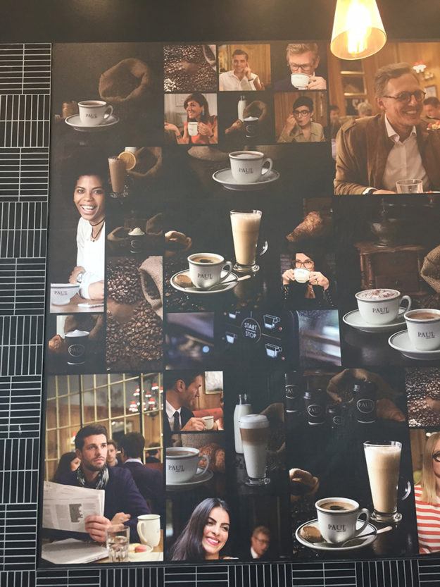 Paul Cafe – Digitally printed wall graphics