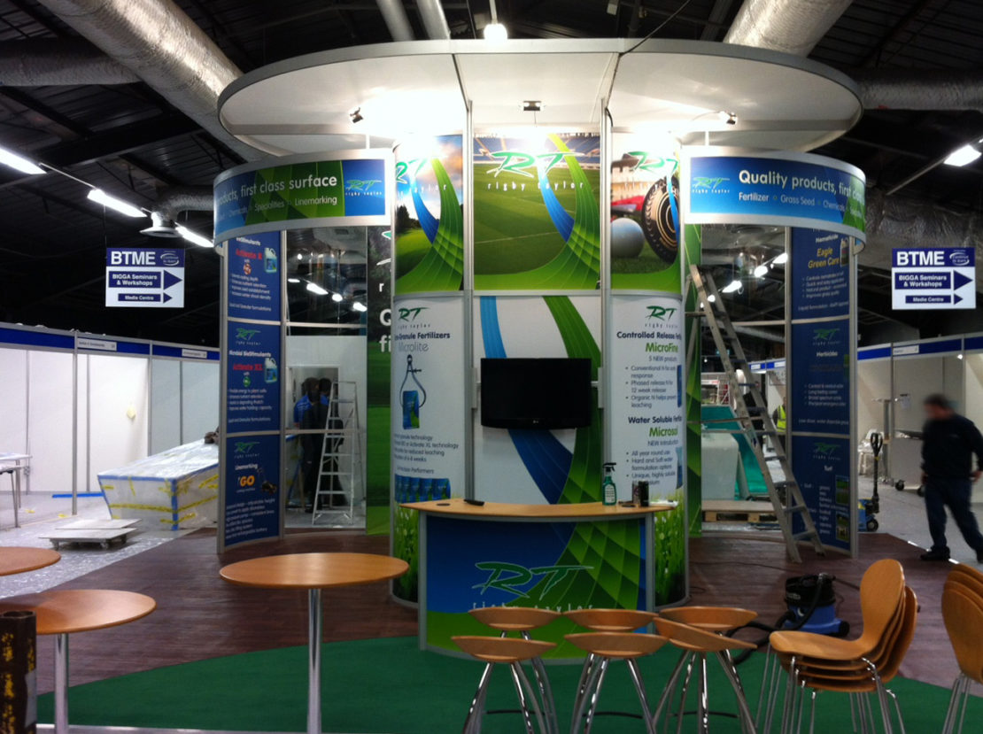 Rigby Taylor – Exhibition stand
