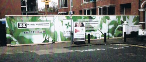 Sotherby Road, London – Hoarding Graphics