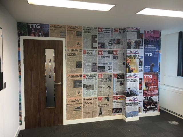 TTG Media – Interior graphics