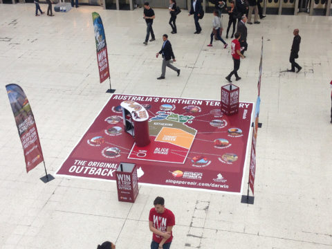 Waterloo Promotion Display