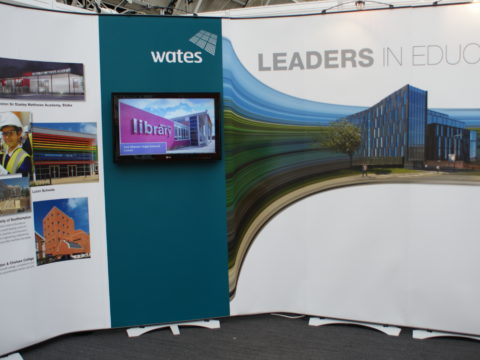 Wates – Twist exhibition stand