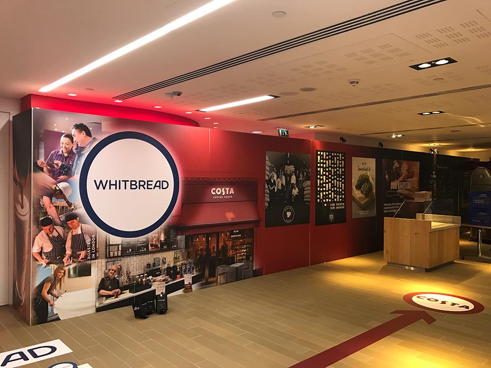 Whitbread – Event graphics