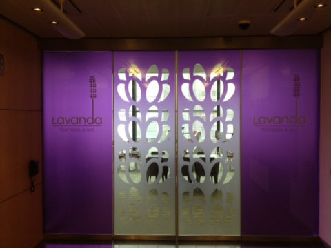 Lavanda – Window graphic manifestation